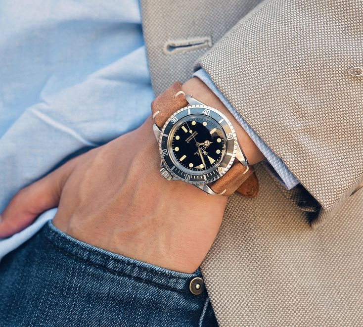 celebrities vintage Rolex submariner