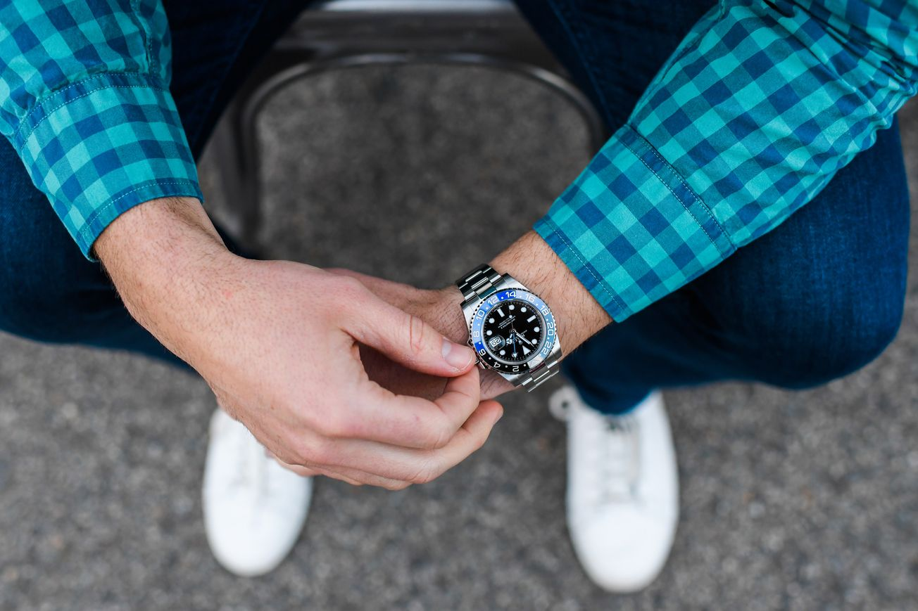 How to style your Rolex Batman GMT-Master II
