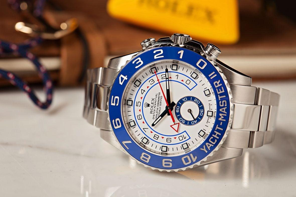 Sailing regatta watches Rolex Yacht-Master II 116680