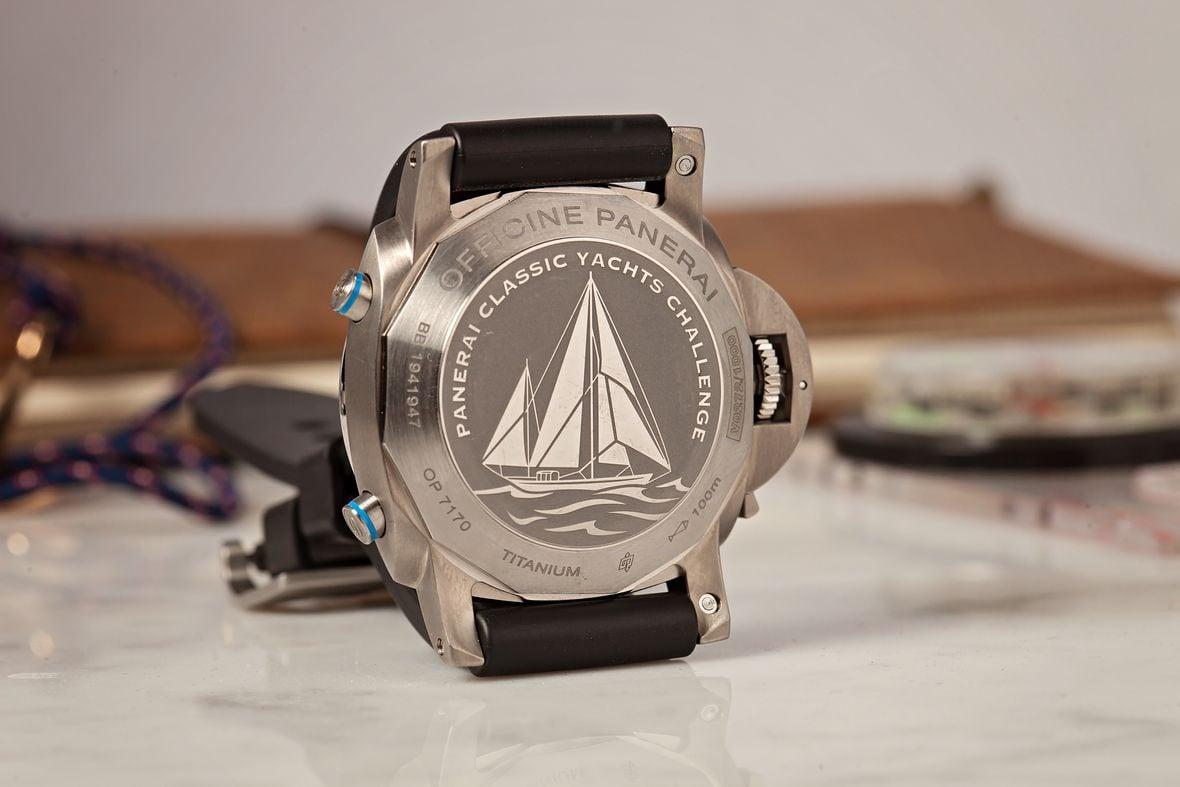 Sailing regatta watches Panerai Luminor Yachts Challenge PAM00764