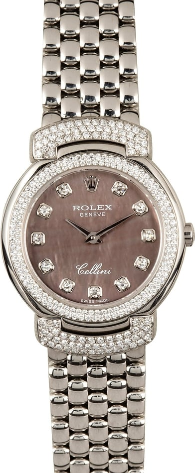 Rolex Cellini Cellissima wedding day