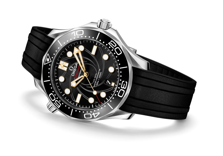 New Omega james bond watch Seamaster Diver 300M 50th Anniversary Edition