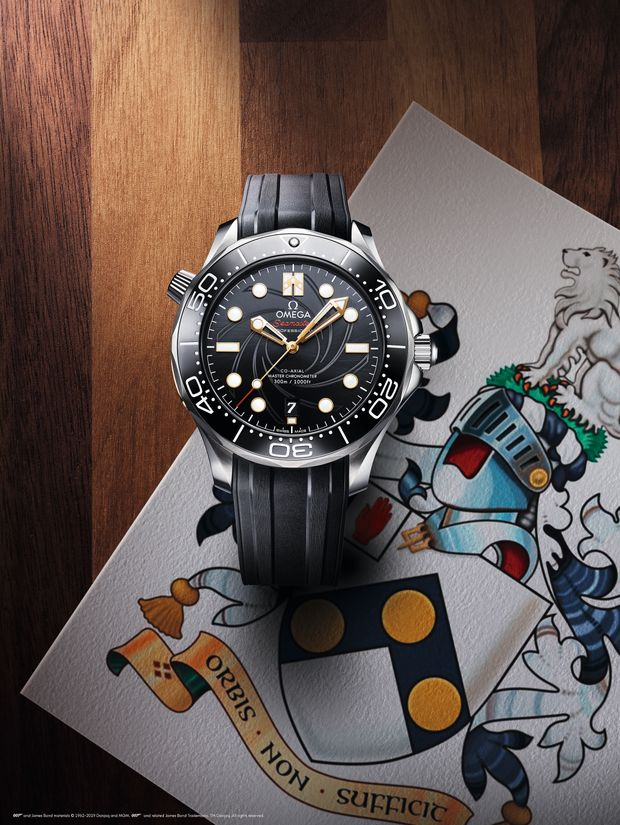 New James Bond Watch Omega Seamaster Diver 300M On Her Majesty's Secret Service 50th Anniversary