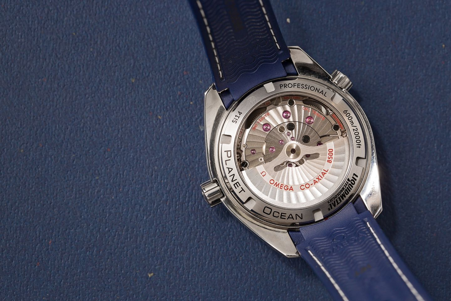 In-House Omega Seamaster Planet Ocean Movement