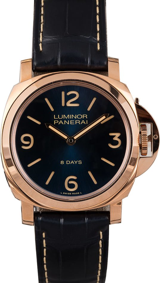 Watches for Fall - Panerai Luminor PAM717