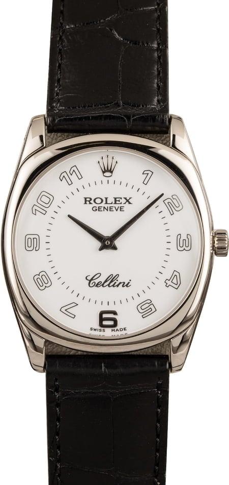 Rolex Cellini 4233 White Gold