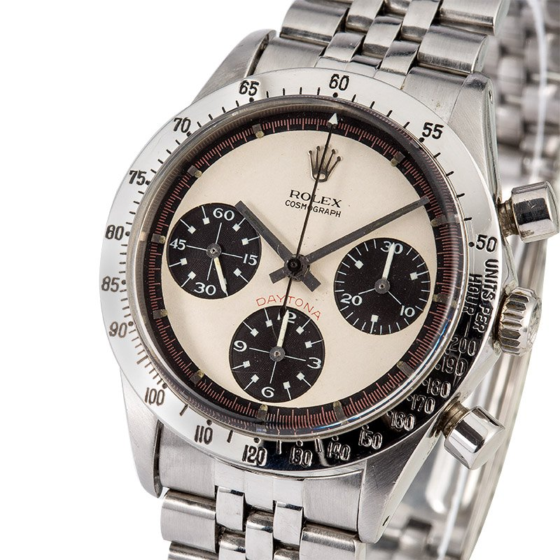 Different Types of Rolex Dials - Paul Newman Dial