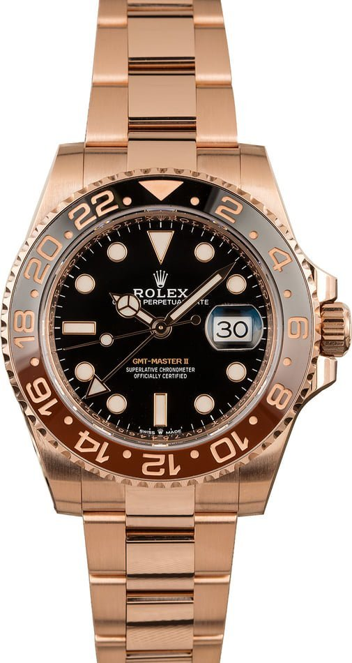 Watches for Fall - Rolex Root Beer GMT-Master 126715
