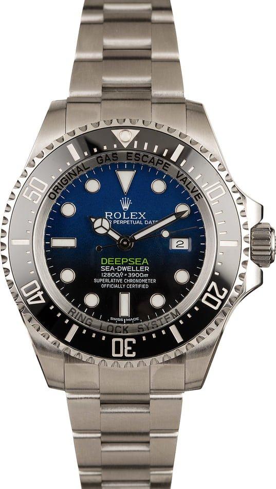 Rolex James Cameron Deepsea Sea-Dweller 116660 D-Blue Dial