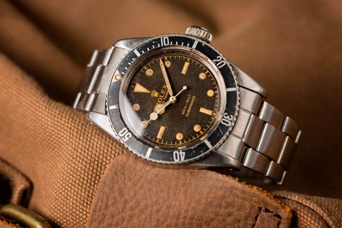 James Bond Rolex Submariner 6538 Big Crown