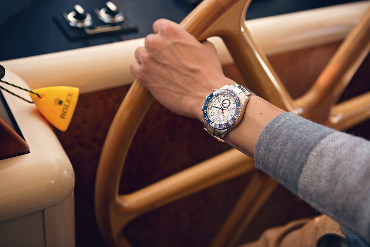 Sailing watches Rolex Yacht-Master II 116680 Stainless Steel