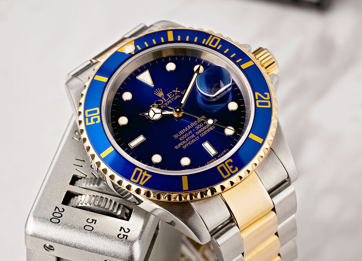 Rolex Submariner Blue 16613