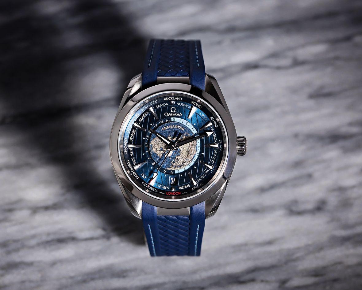 Sailing Watches Omega Seamaster Aqua Terra Worldtime
