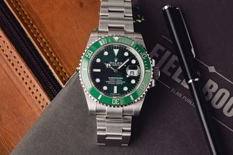 Notable Rolex Styles - Hulk Submariner