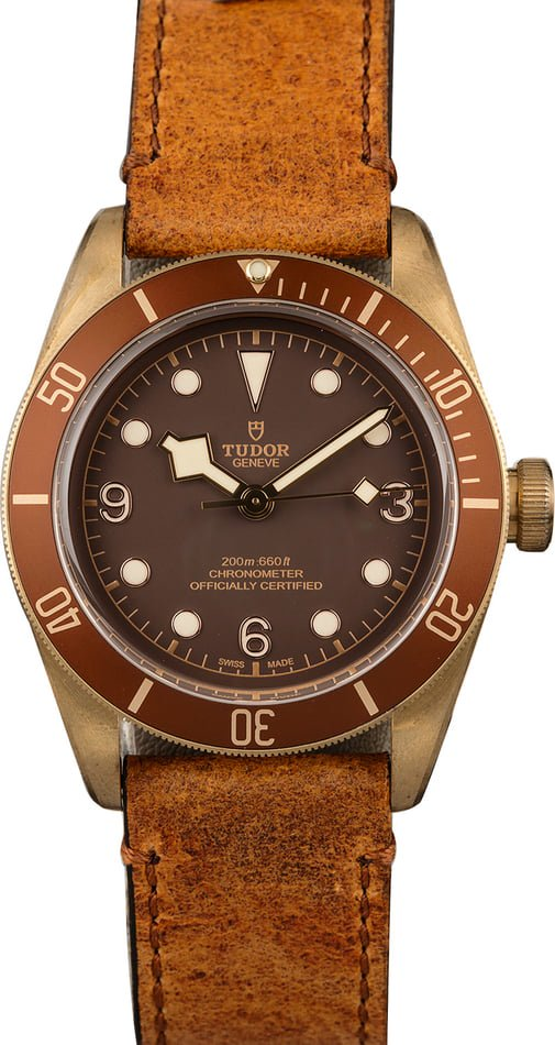 fall fashion Watches - Tudor Black Bay Bronze 79250BM