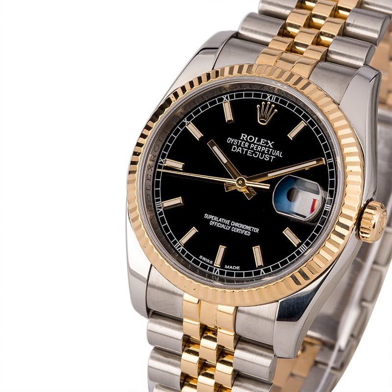 Different Types of Rolex Dials - standard dial