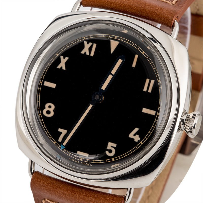 Different Types of Rolex Dials - Panerai California Dial