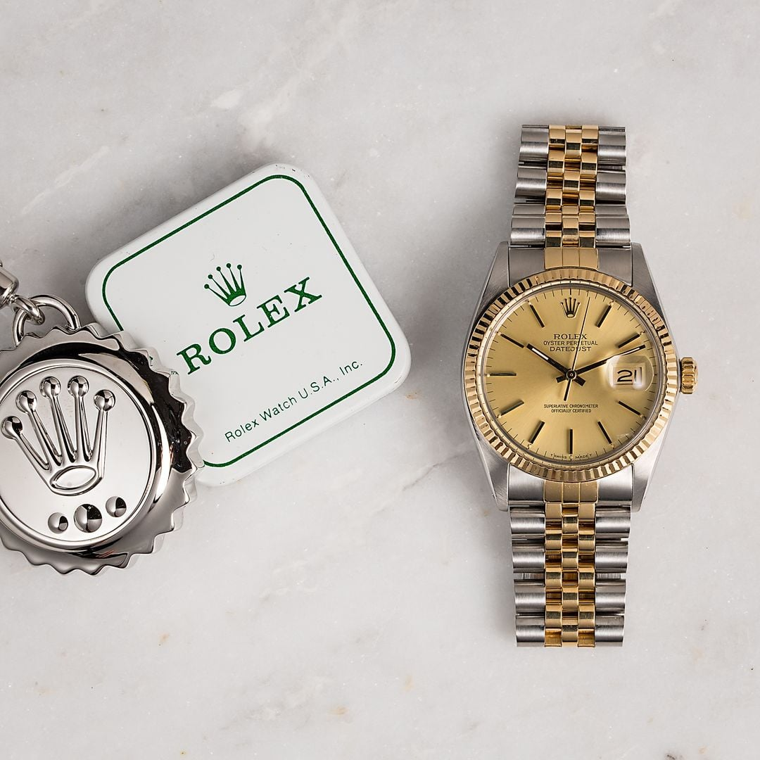 My First Rolex Watch - Rolex Datejust two-tone 16013