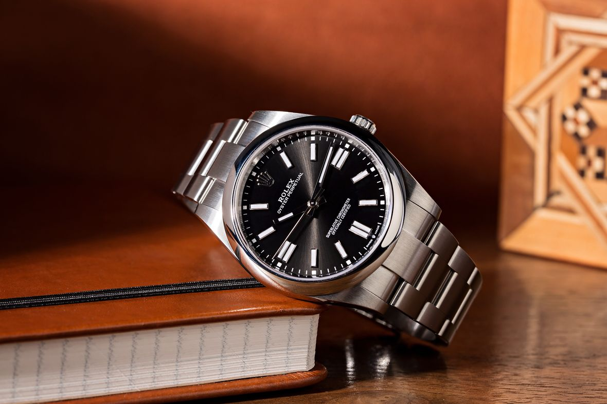 History of Rolex Watches Stainless Steel Oyster Perpetual