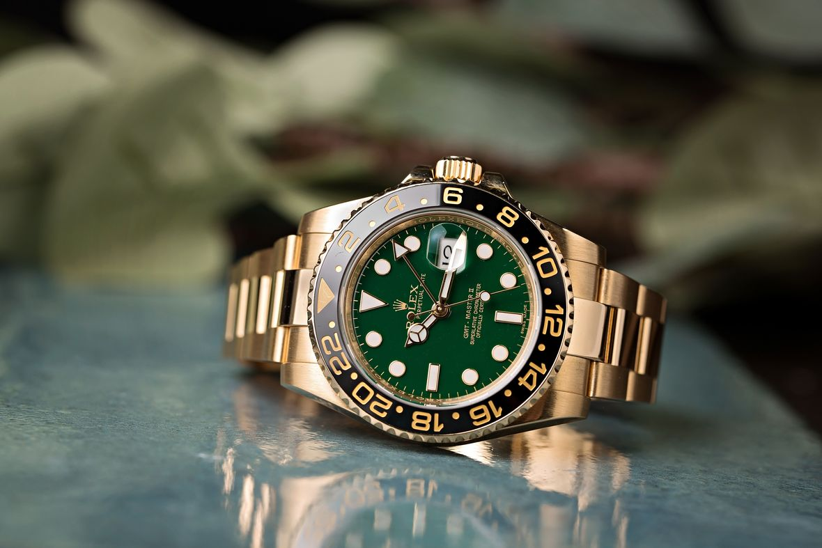 History of Rolex Watches Gold GMT-Master II 50th Anniversary