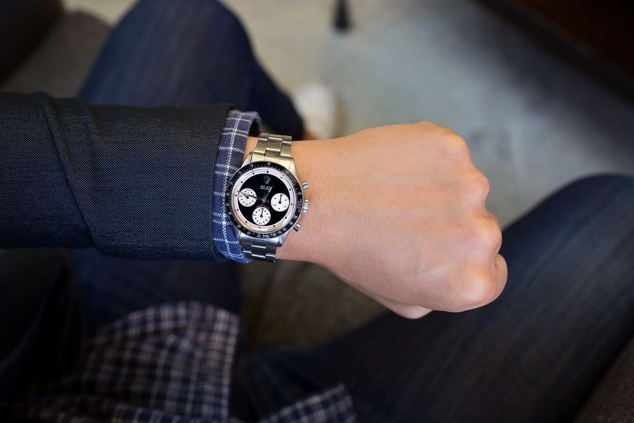 Rolex Paul Newman Daytona Found in Couch