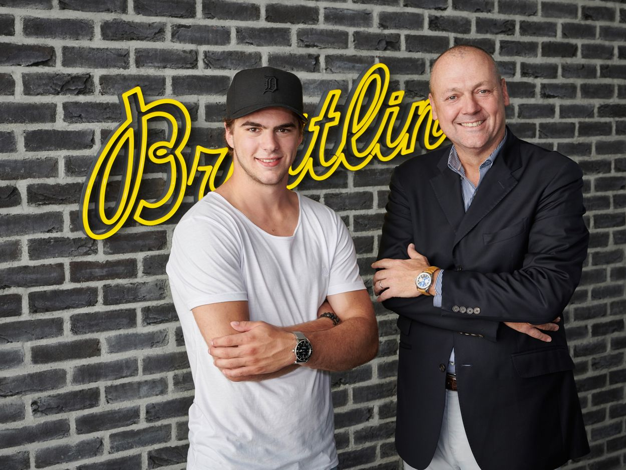 Breitling Watches Swiss Professional Hockey Nico Hischier
