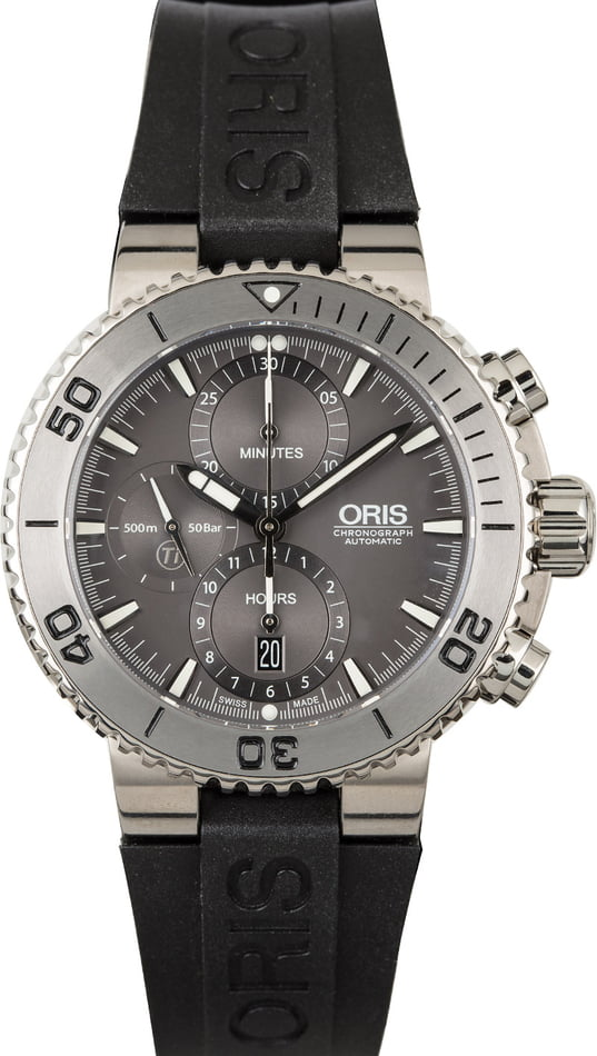 Best Oris Watches - Aquis Titan Chronograph