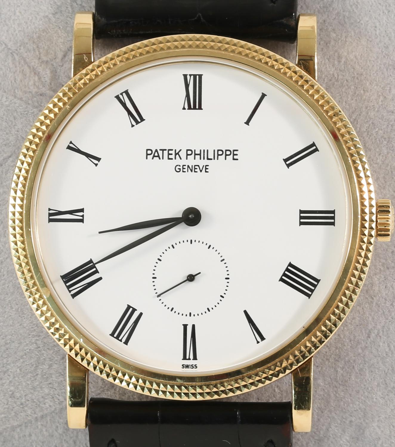 Anthony Bourdain Watch Collection - Patek Philippe Calatrava