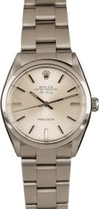 Rolex Air-King 5500 stainless steel