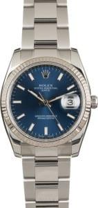 34mm Rolex Date 115234