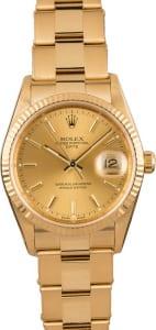 34mm Rolex Date 15238