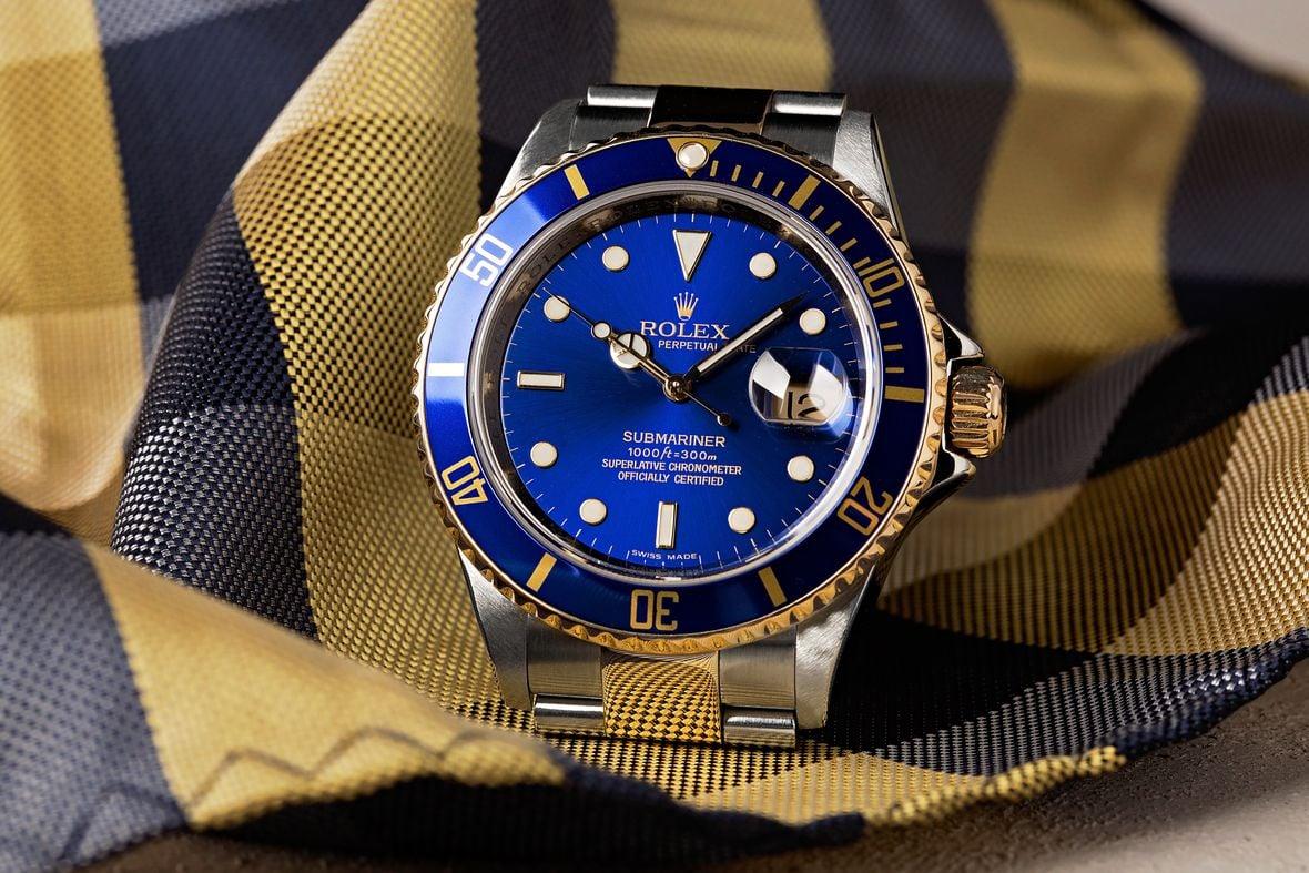 Rolex Submariner Blue 16613 Bluesy Two-Tone