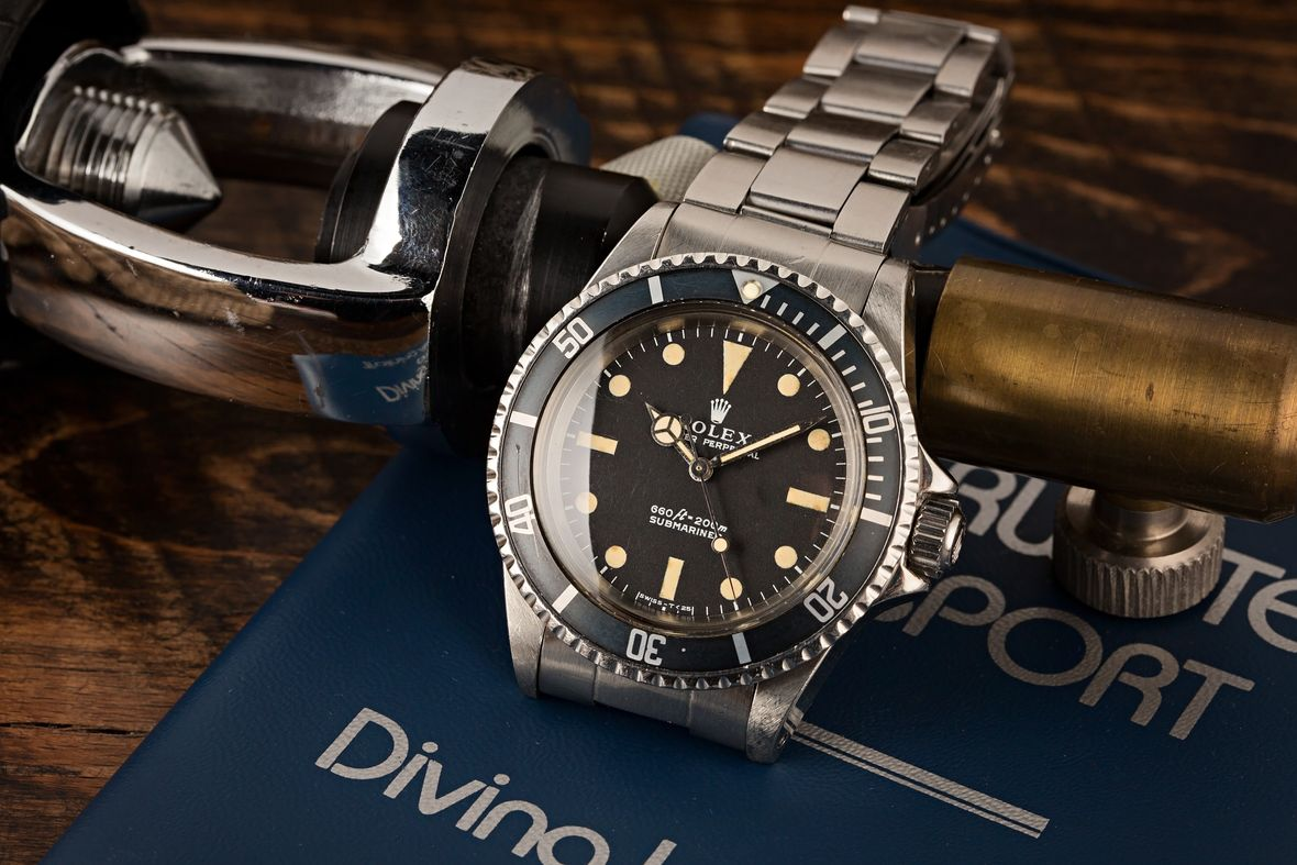 History of Rolex Watches Submariner 5513 COMEX