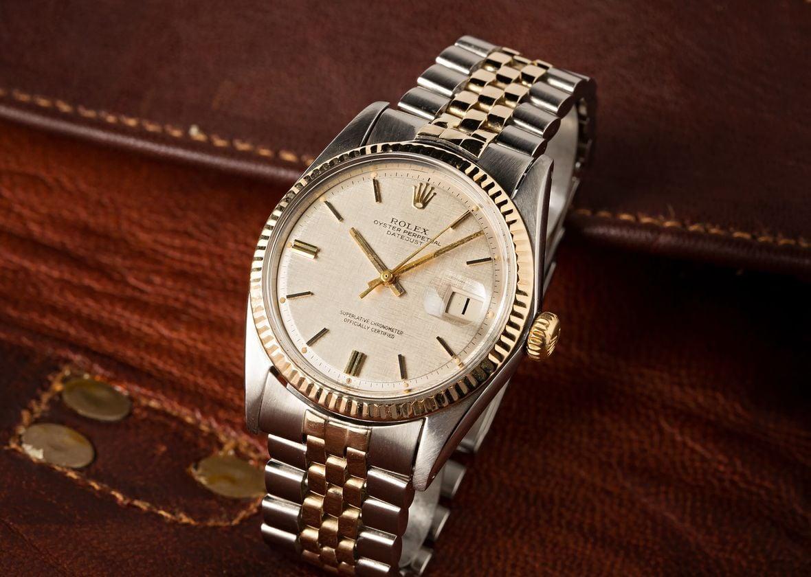 Vintage Rolex Datejust 1601