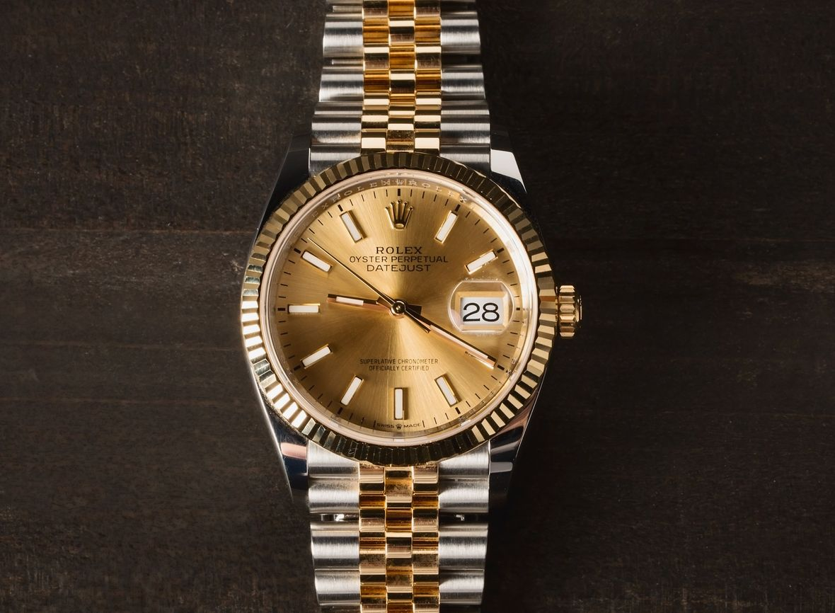 History of Rolex Watches Datejust 36 Two-Tone Jubilee Bracelet