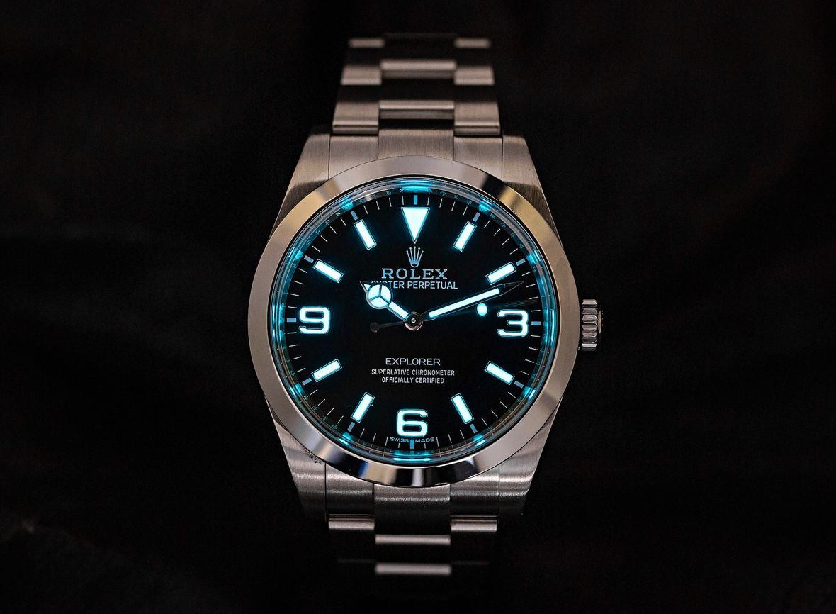 History of Rolex Watches Explorer Stainless Steel Chromalight