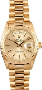 Rolex president Day-Date 1803 solid gold