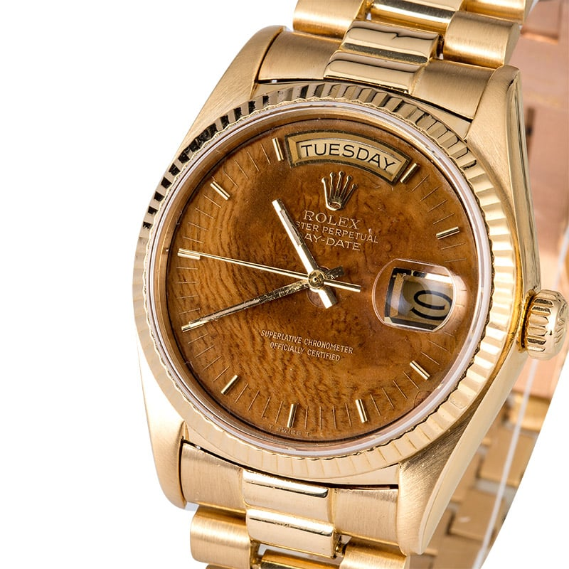 RolexPresident Exotic Wood Dial