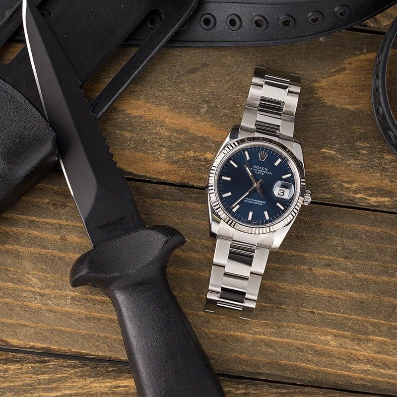 Rolex Date 115234 34 mm