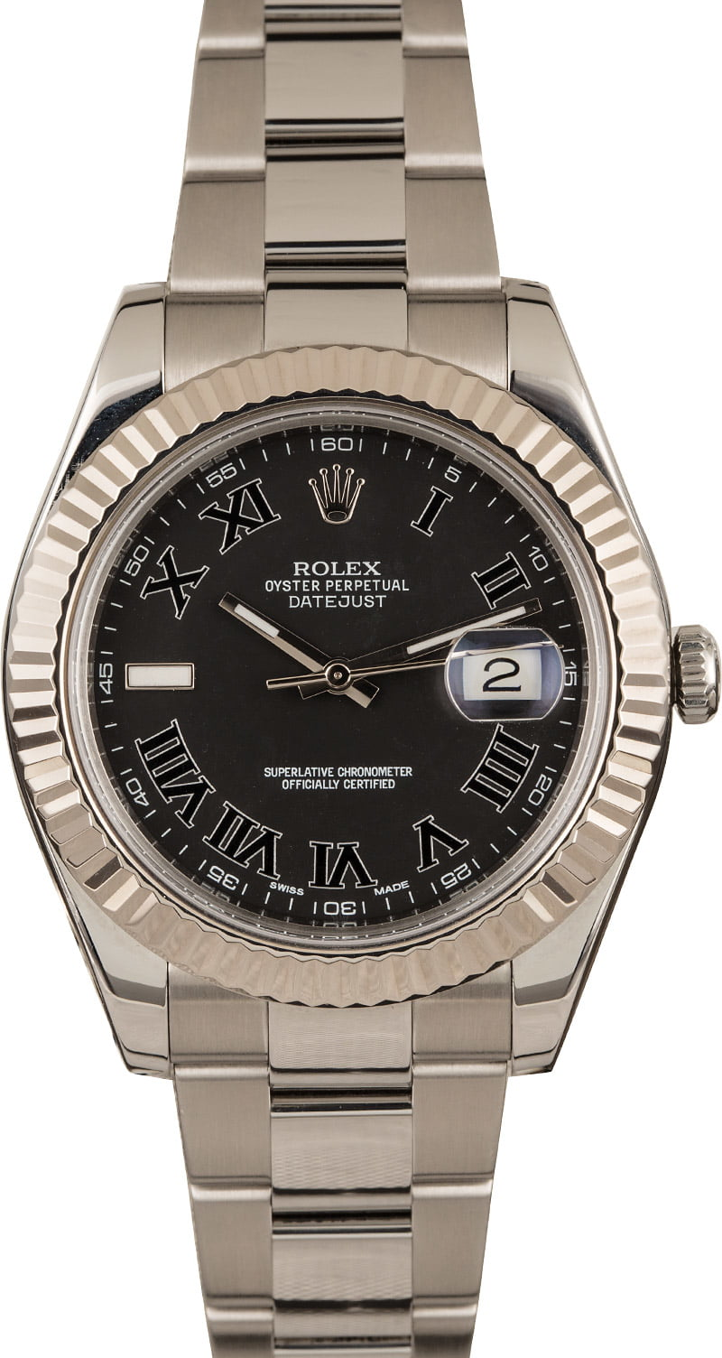 The Rolex Datejust II