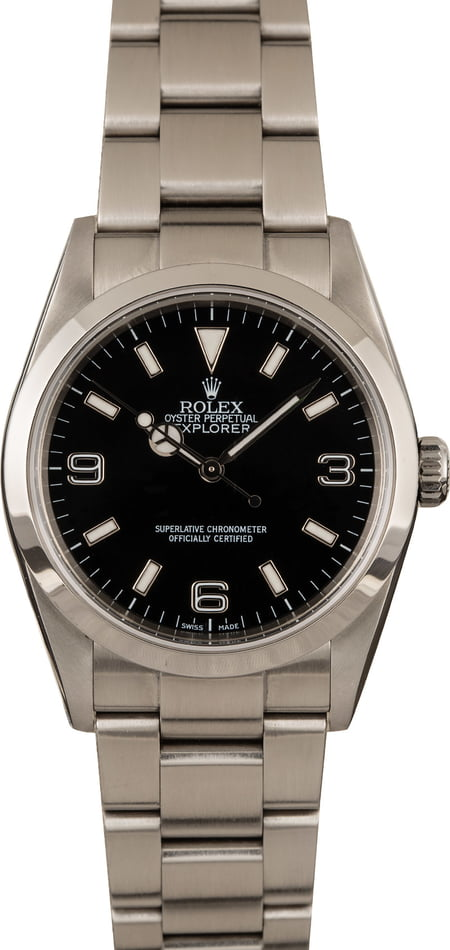 The 36mm Rolex Explorer