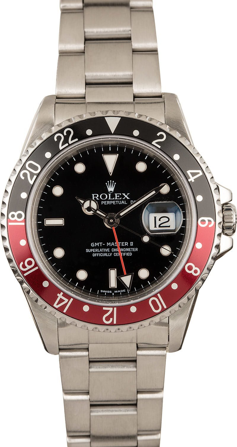 The Rolex GMT-Master II Coke