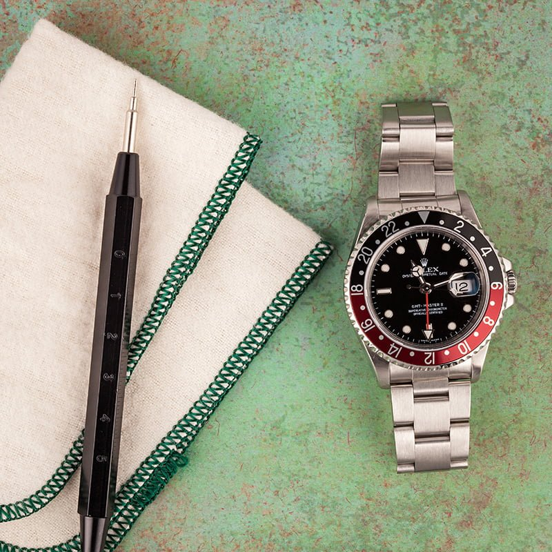 The Rolex GMT-Master II ref. 16710 Coke