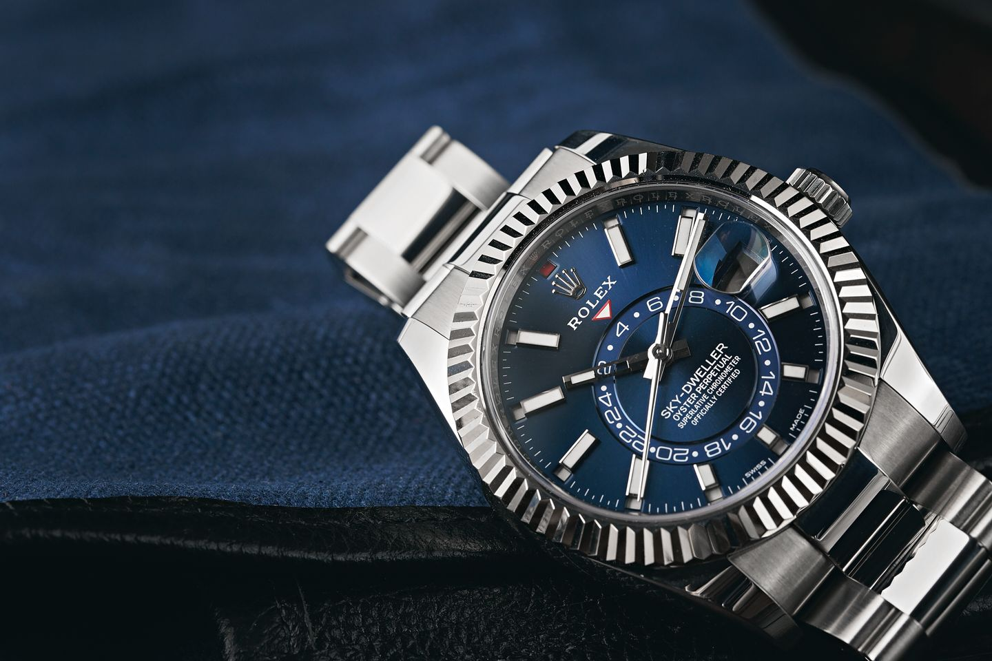 Rolex Sky-Dweller stainless steel blue dial vs GMT-Master II pepsi