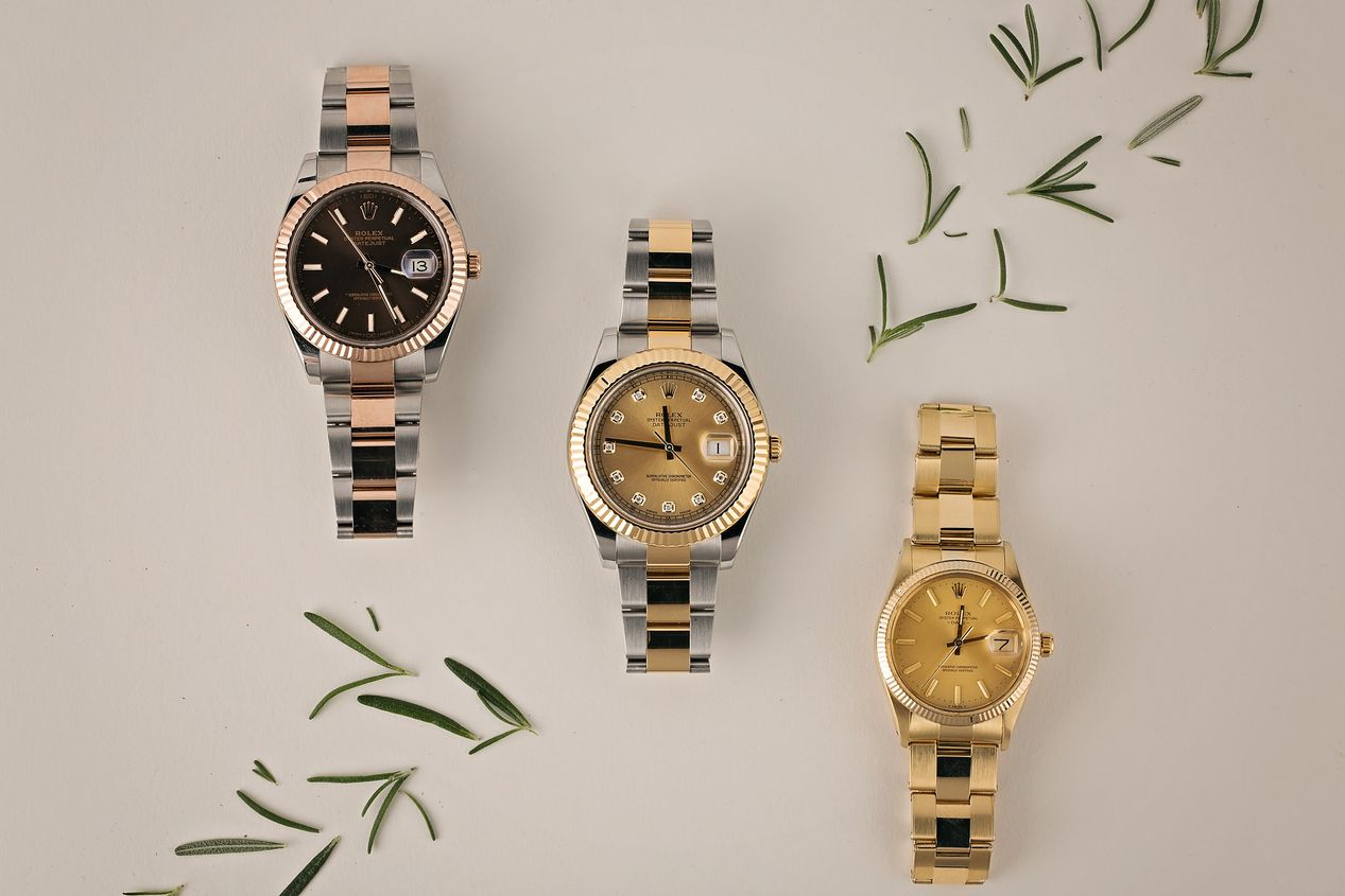 Bob's Watches Holiday Gift Guide Gold Rolex Watches