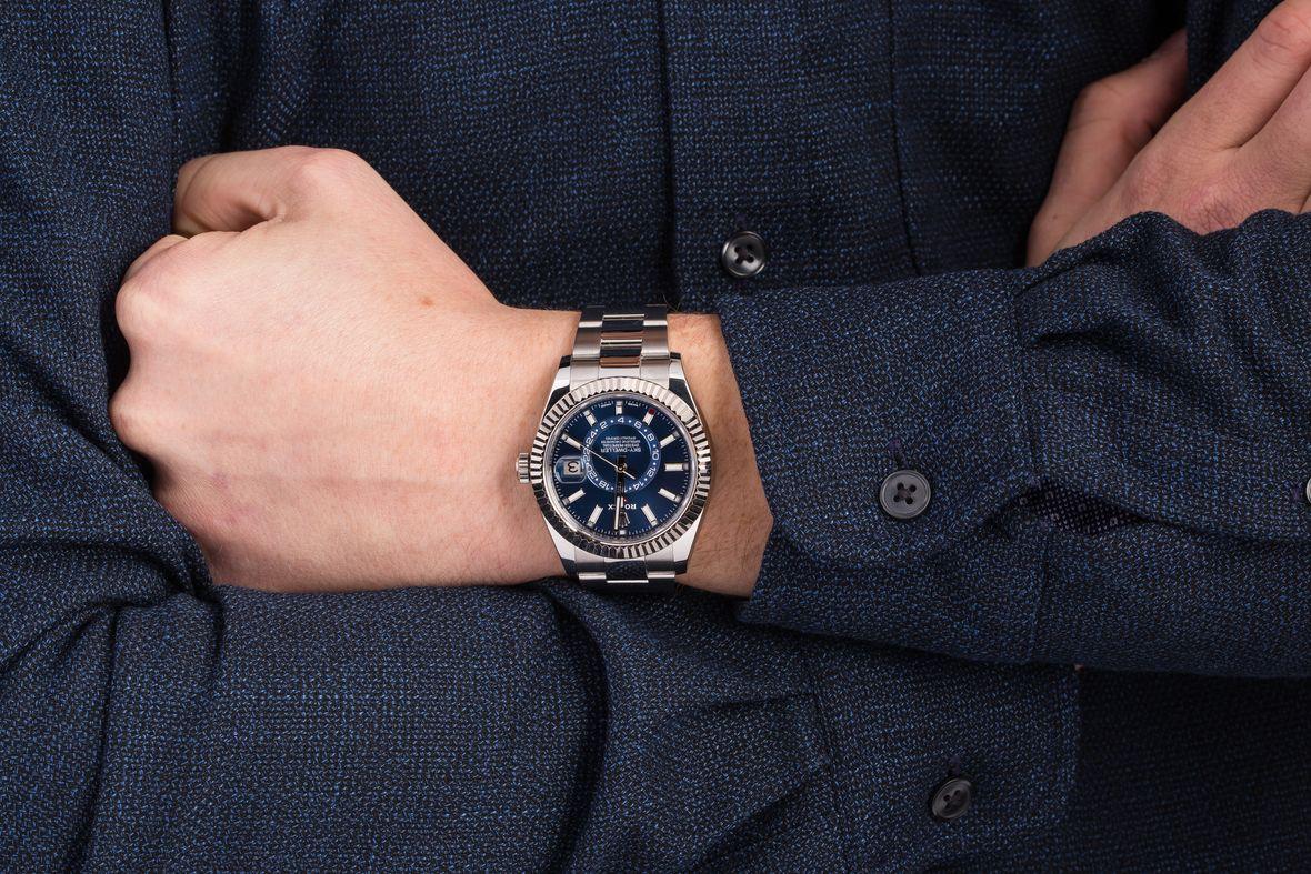 Rolex Sky-Dweller Blue Dial 326934 Oyster Bracelet