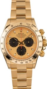 Rolex watch holiday party Daytona solid gold