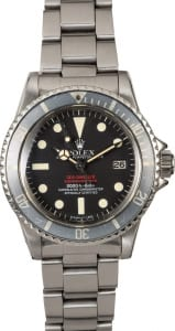 Rolex watch holiday party double red sea-dweller 1665