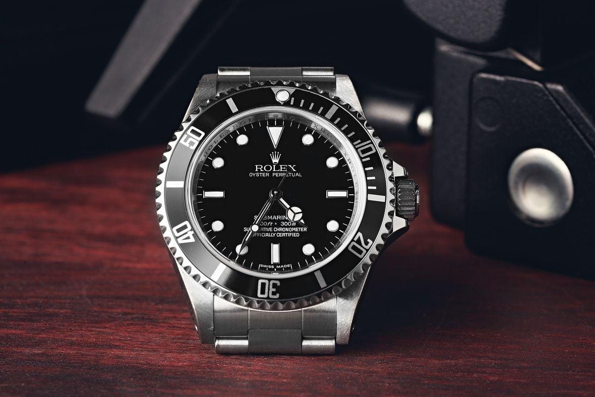 Rolex Submariner 14060M Chronometer Certified 4-Line Dial