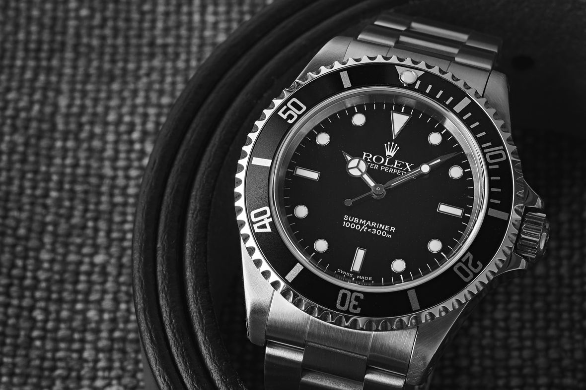 Rolex Submariner Reference 14060 No-Date